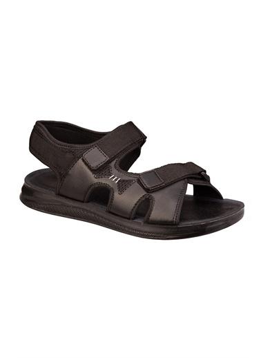 Polaris Spor Sandalet Siyah